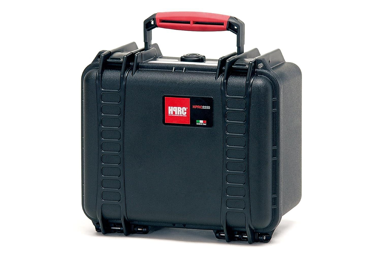 HPRC 2250E Hardcase (TX01 Material, 7 Liter Volumen, ohne Inhalt) schwarz