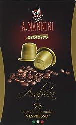 Caffè A. Nannini Arabica - 150 Capsule