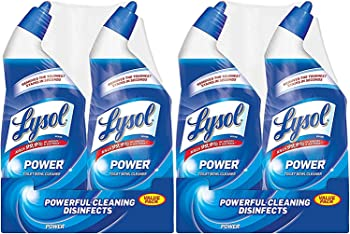 4-Count (2 x 2-Pack) Lysol 10X Cleaning Power Toilet Bowl Cleaner