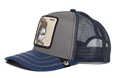 fc57673b1 Goorin Bros.. 'Squirrel Master' Squirrel Snapback Trucker Baseball Hat Blue