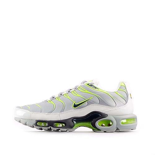 Nike Air Max Plus, Herren Sneaker grau Wolf GreyDark Grey