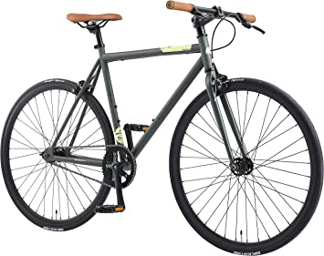 BIKESTAR Bicicleta de Paseo, Single Speed 700C Ruedas 28