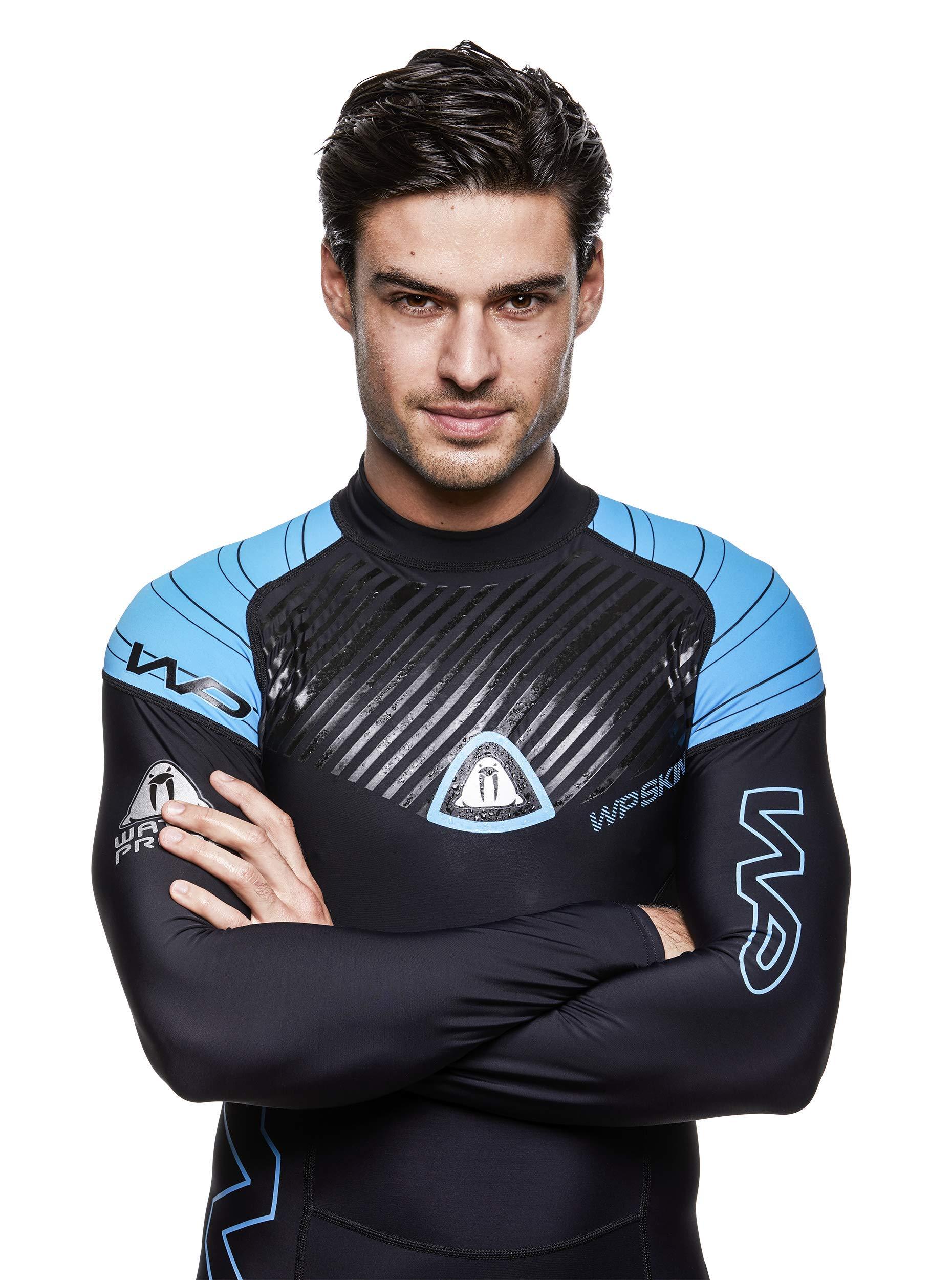 Waterproof Mens Superstretch Lycra Skin Suit, XS-S