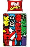 Character World Marvel Comics Clash Junior Duvet Set