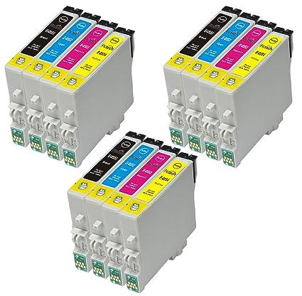 Set de 3 S=12 Epson T0615 cartuchos de tinta para impresora ...