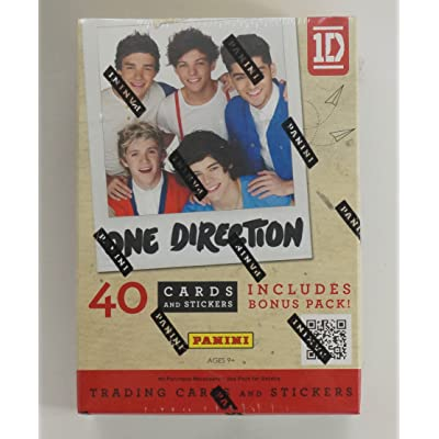 2013 Panini One Direction Trading Cards 4 Pack Blaster Box 40 Cards: Sports & Outdoors
