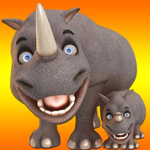 Talking Rhino Hero And Junior (Free)