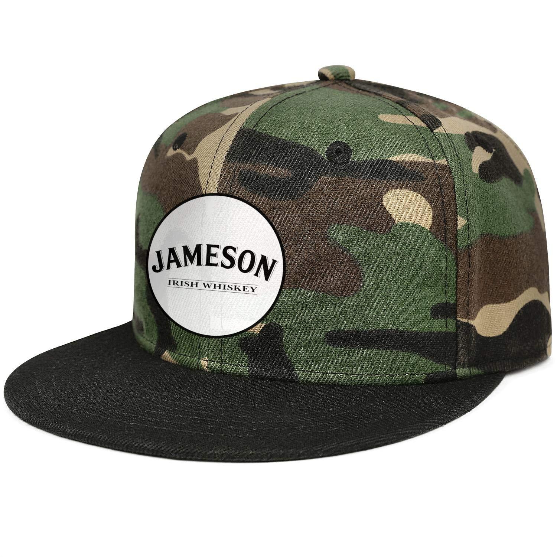 HIRGOEE Mens Women Jameson-Irish-Whiskey Cap Designed Hats Workout Caps
