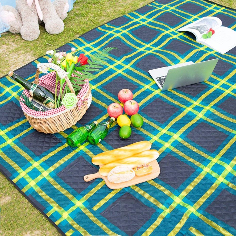 Picknickdecke Frühlingsmatte Verdicken Wasserdichte Feuchtigkeits Matte Matte Matte Camping 210  170  0.3cm Outdoor Picknick (Farbe   Style1) B07D5WWNHV | Lebensecht  44b27e