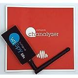2.4/5GHz対応USBスペクトラムアナライザ Wi-Spy DBx + Chanalyzer