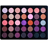 Sienna Blaire Beauty Makeup Eyeshadow Palette (Neutral) 35 Color Shades, Matte and Shimmer Highly Pigmented Eye Shadow for Women, Professionals, Vegan, Cruelty-free