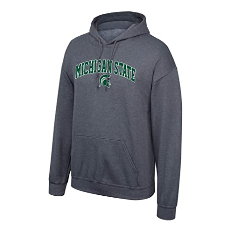 77169680 Amazon.com : Elite Fan Shop NCAA Men's Michigan State Spartans Hoodie  Sweatshirt Dark Heather Arch Michigan State Spartans Dark Heather XX Large  : Sports & ...