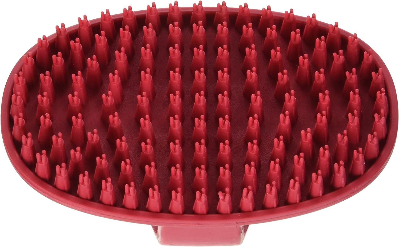 Le Salon Cepillo de Goma Almohazar para Razas de Pelo Corto