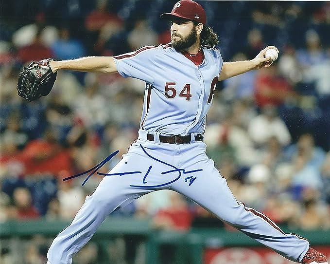 Autographed Austin Davis 8x10 Philadelphia Phillies Photo at ...