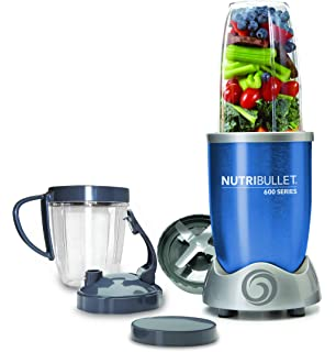 NutriBullet NBR-0928-B - Extractor de nutrientes original con recetario en Español,