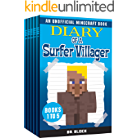 Diary of a Surfer Villager, Books 1-5: (a collection of unofficial Minecraft books) (Complete Diary of a Minecraft…
