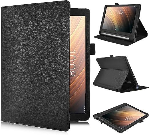 ELTD Lenovo Yoga Tab 3 Plus 10.1 Cover, Book-Style Funda de Piel ...