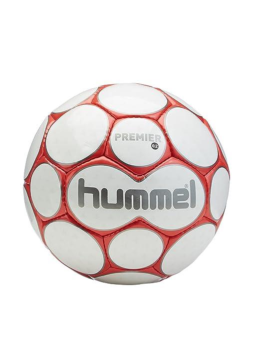 hummel 0,2 Premier - Balón de fútbol Blanco White/Red Talla:4 ...