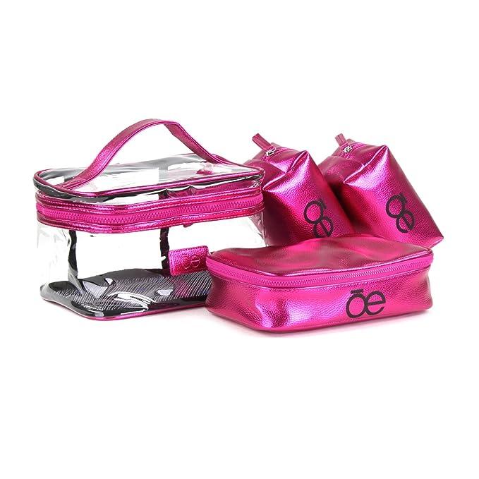 Cosmetiquera en color morado set metálica - Cloe  Amazon.com.mx ... ac746d614eeda