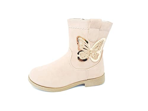90fb1b357 Buckle My Shoe - Botas de Sintético para niña Rosa Rosa  Amazon.es  Zapatos  y complementos