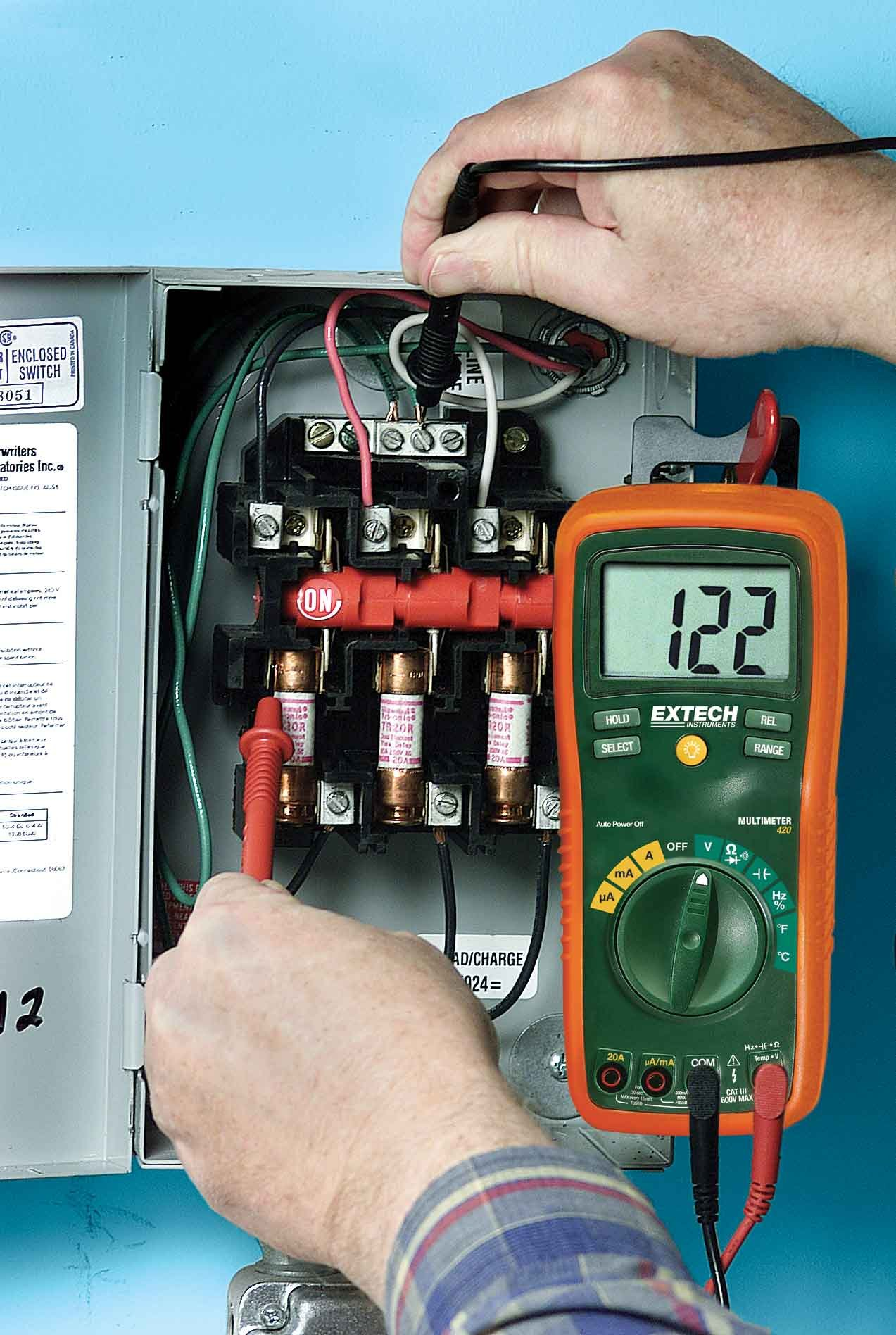Extech EX420 Professional 11 Function MultiMeter by Extech (Image #2)
