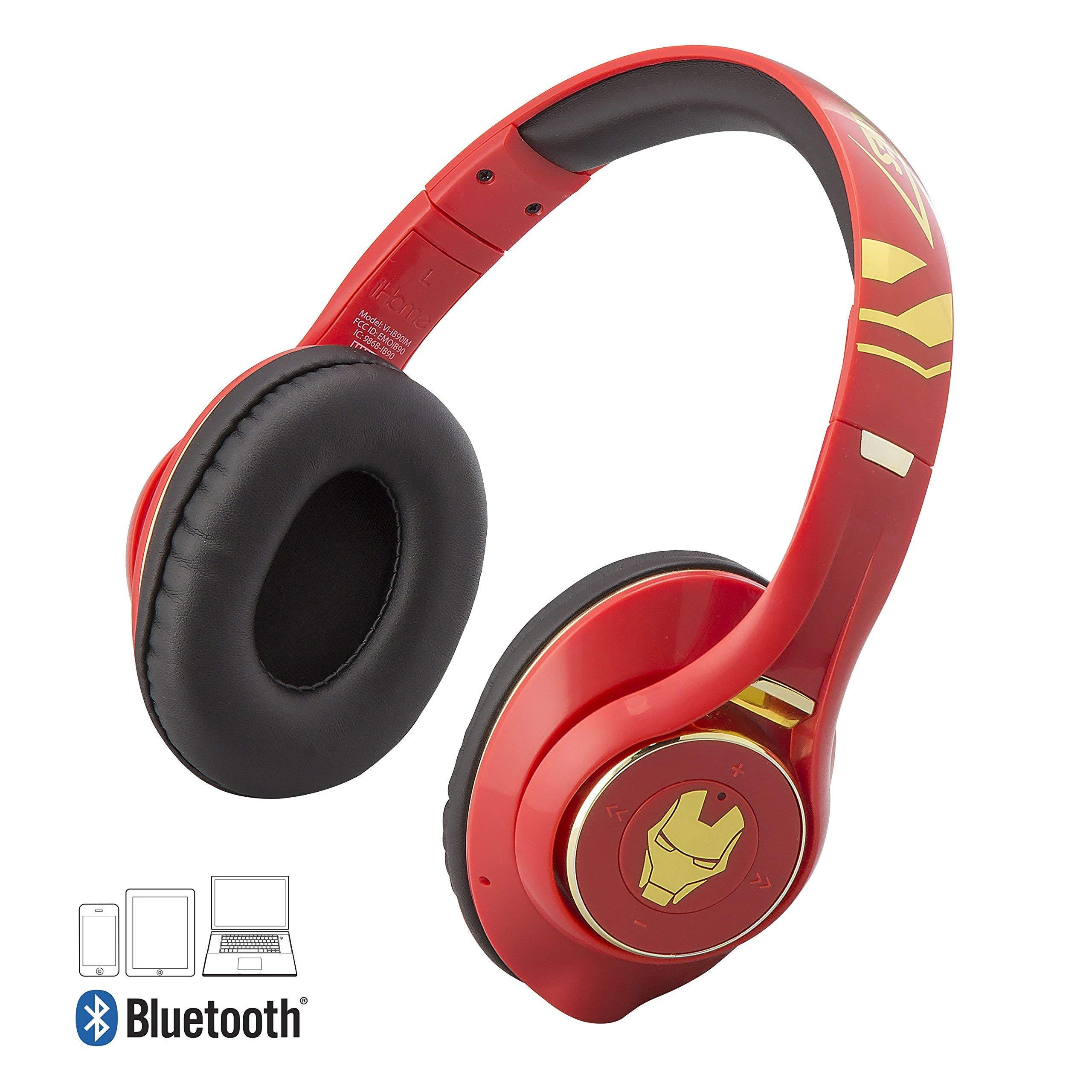 Auriculares Chicos Inalambrico  MIC Iron Man [75QMSHG1]
