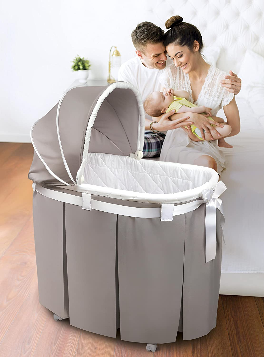 The Badger Basket Wishes Bassinet
