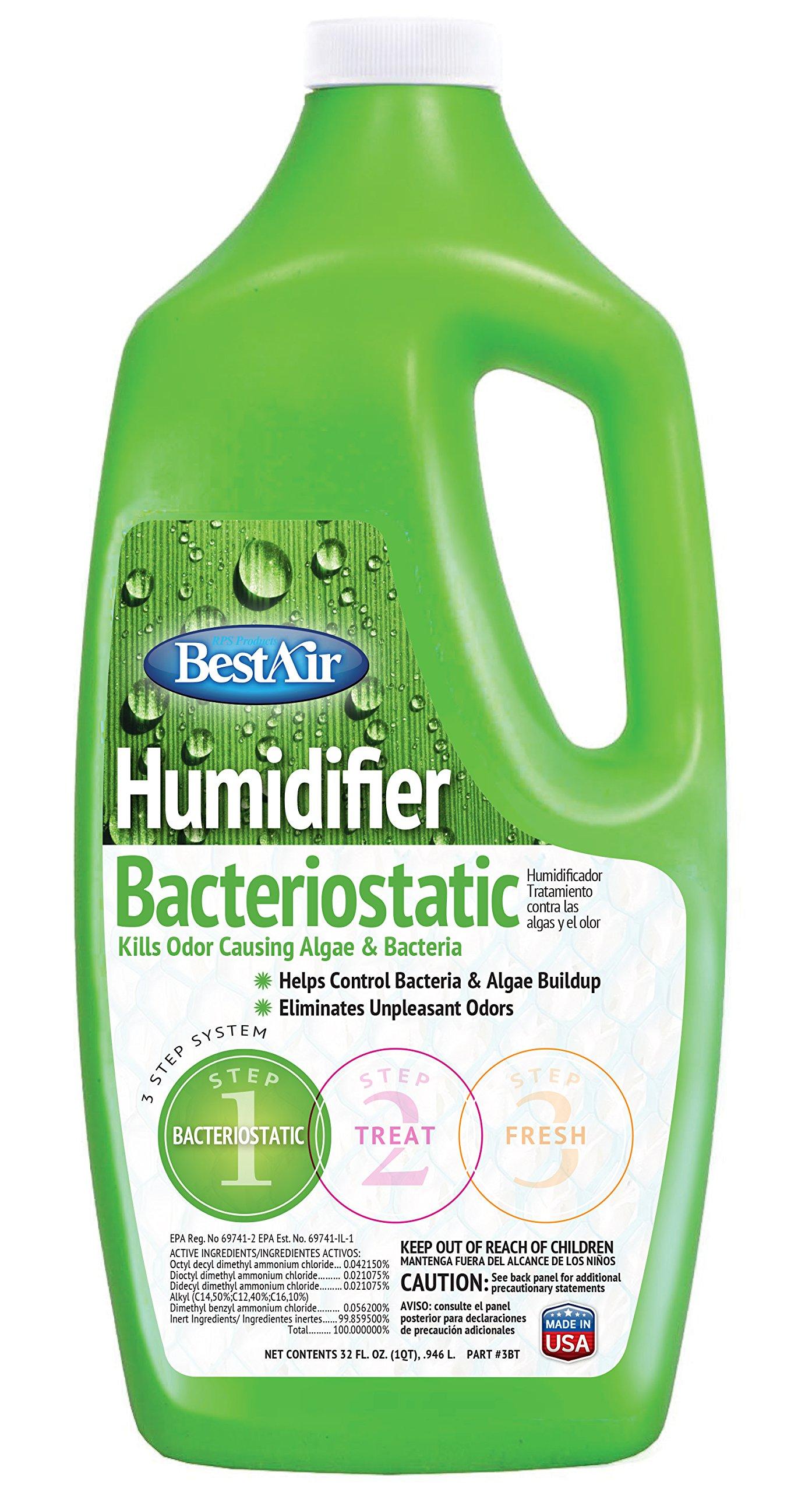 BestAir 3BT, Original BT Humidifier Bacteriostatic Water Treatment, 32 oz