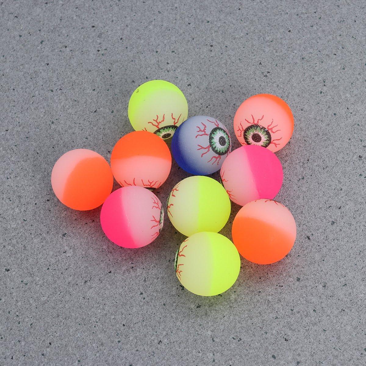 Halloween Bouncy Balls Eyeballs Scary Prank Halloween Party Supplies Halloween Party Themes, 30PCS