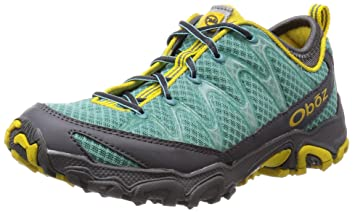 Oboz Emerald Peak Women's Trail Walking Shoes - 7.5 - Blue