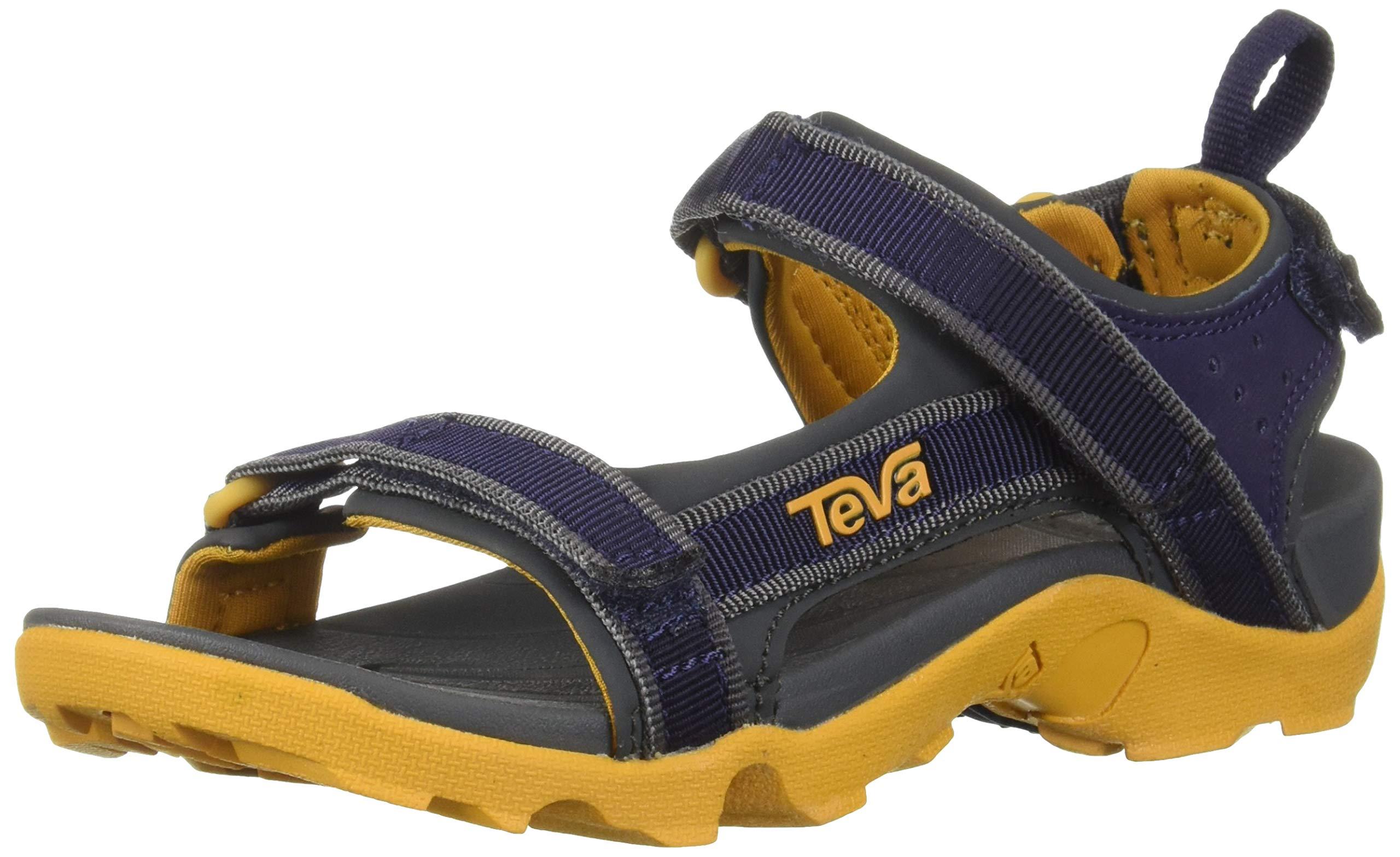 Teva Kids' K Tanza Sport Sandal, eclipse, 5 Medium US Big Kid