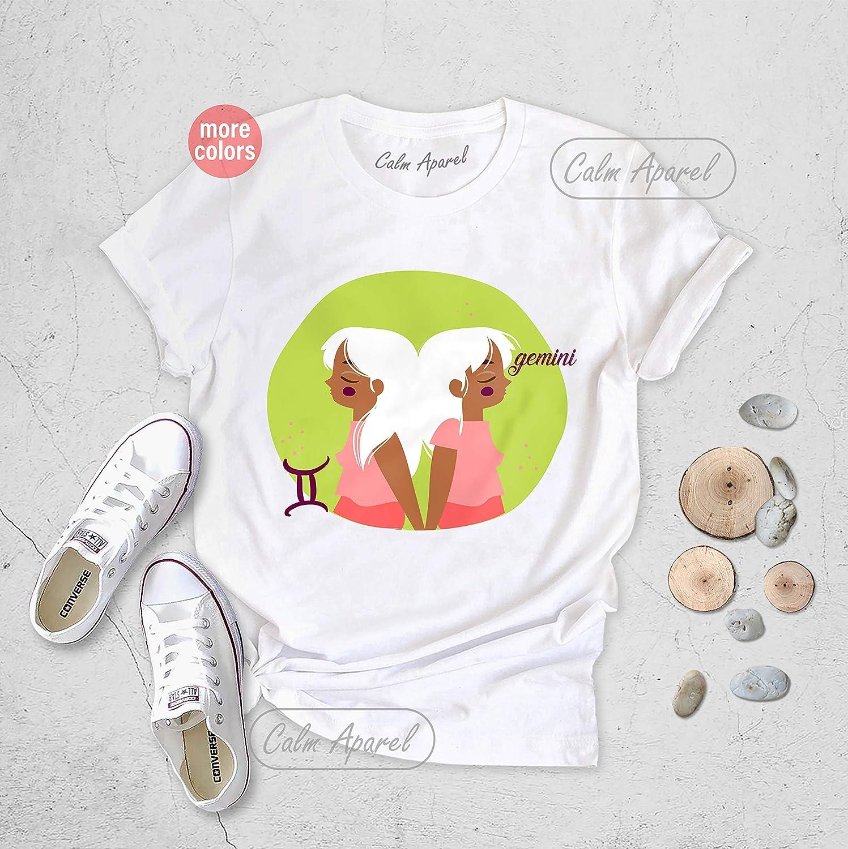 Gemini T-shirt Astrology Shirt Zodiac Tee Shirt Birthday Horoscope Gift