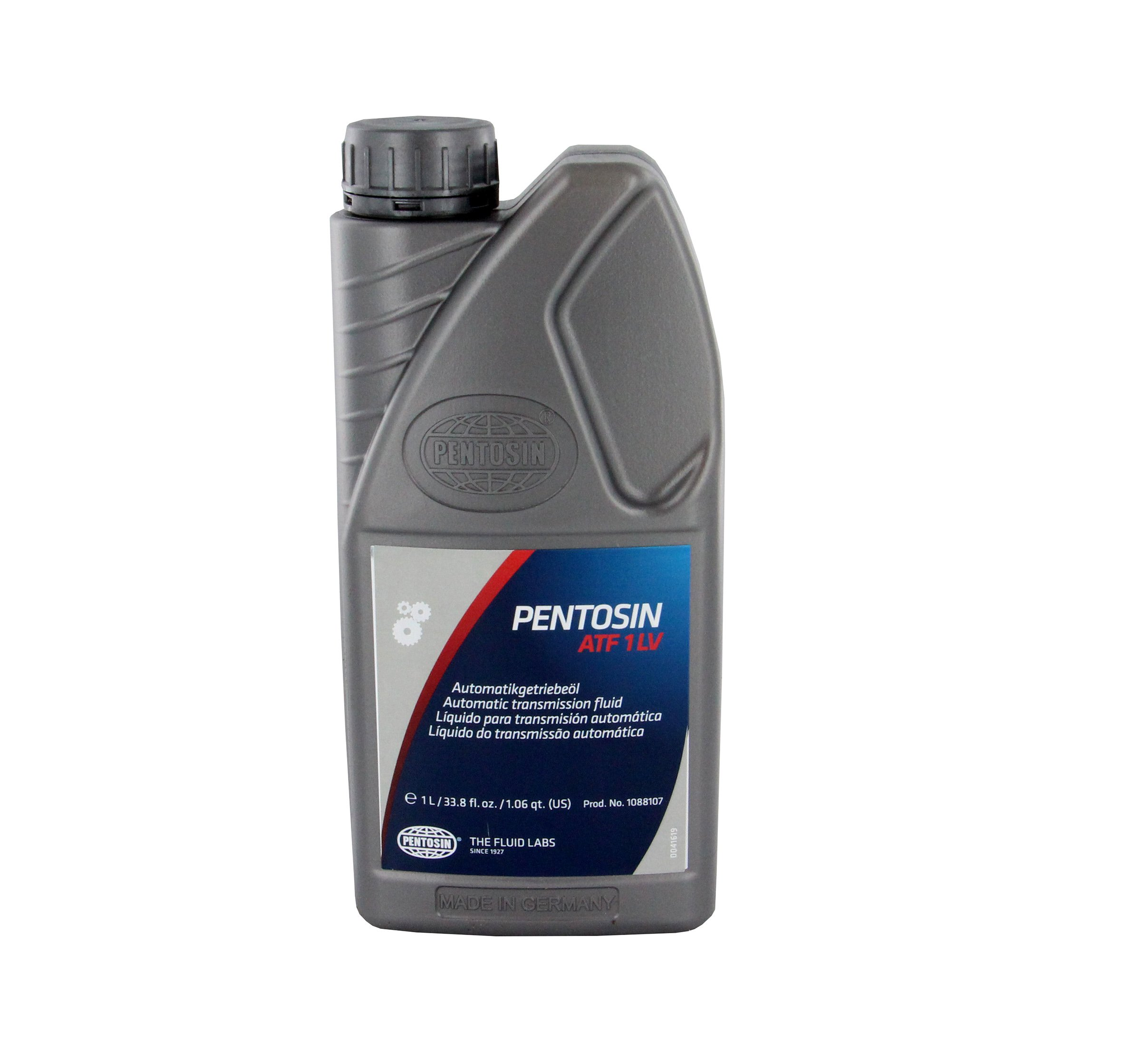 Pentosin 1088107 ATF 1LV Transmission Fluid, 1L