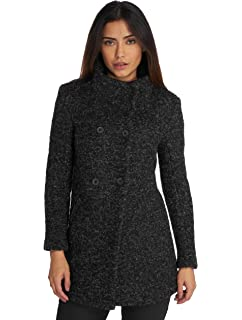 be521275400aa1 MAIDOMA Giaccone Boucle Nero Donna Effetto Lana Cotta Made in Italy · EUR  89,00 · Only Onlsophia Boucle Wool Coat CC Otw, Giubbotto Donna