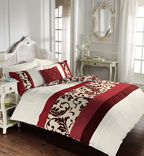 DUVET QUILT//COVERS with pillowcases Single Double King /& Super King UK Made