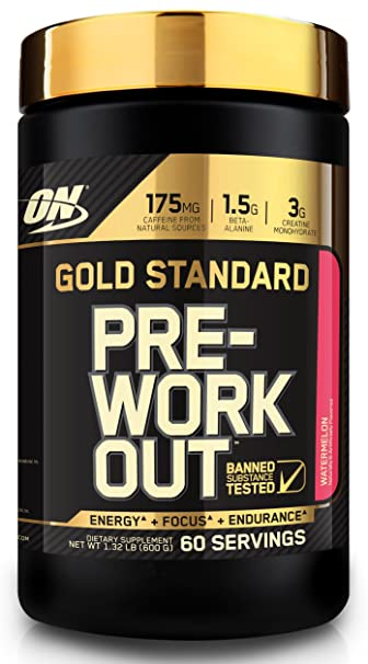 OPTIMUM NUTRITION Gold Standard Pre-Workout with Creatine, Beta-Alanine, and Caffeine
