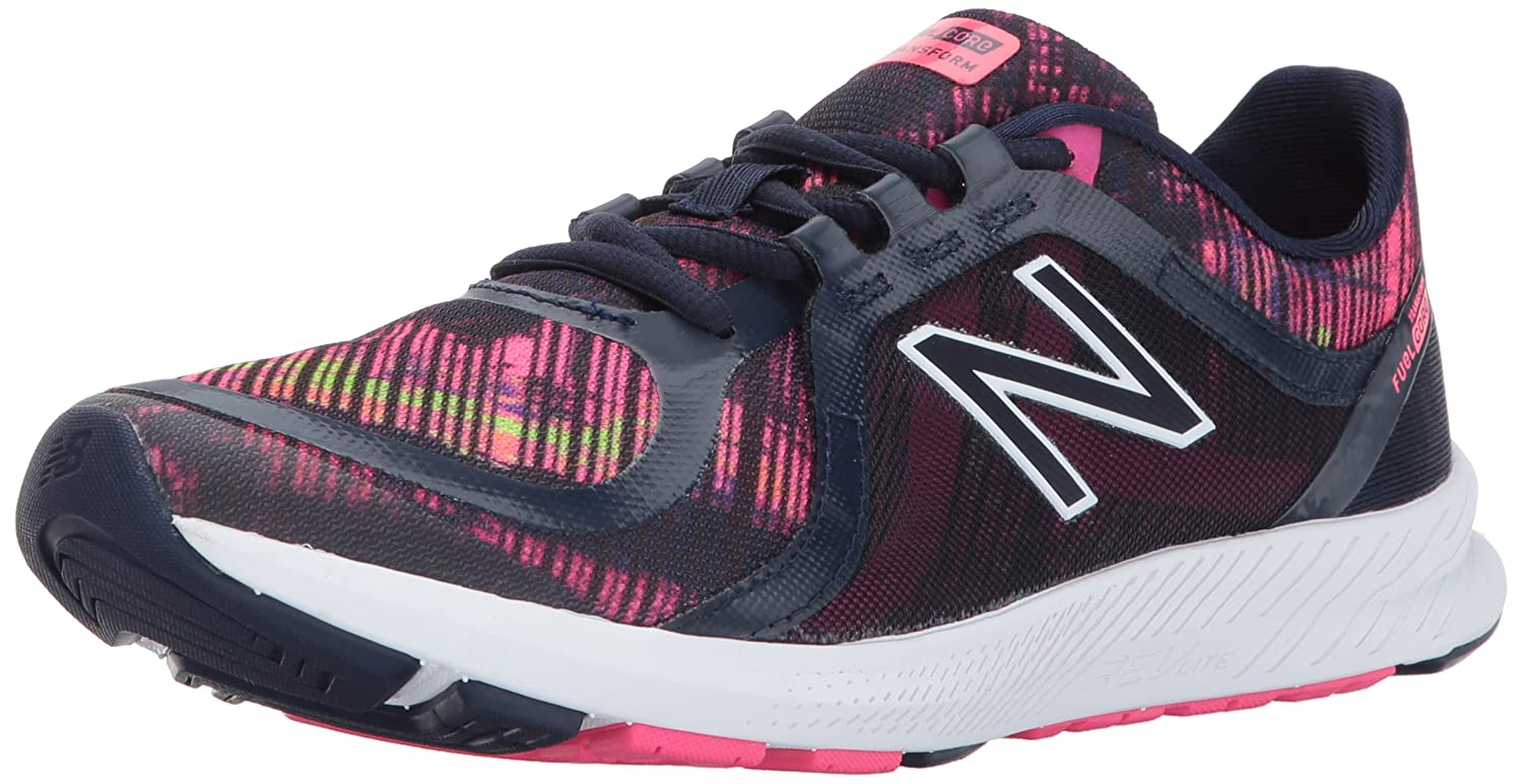 New Balance Women's 77V2 Cross-Trainer-Shoes B01NCA5O4B 5 D US|Pigment/Stripped Velocity Graphic