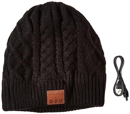 Amazon.com: LAYEN Bluetooth gorro de invierno Cable Knit ...