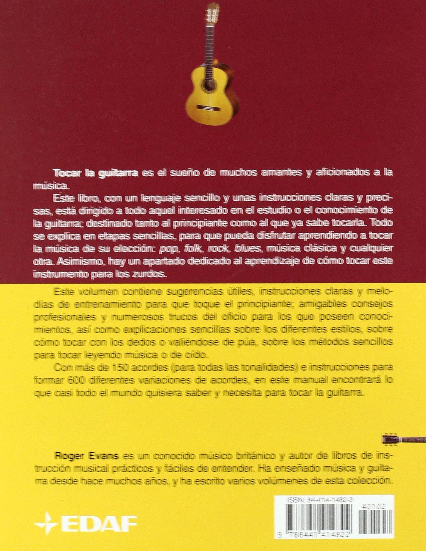 Como Tocar La Guitarra (Manuales e Música): Amazon.es: Evans ...