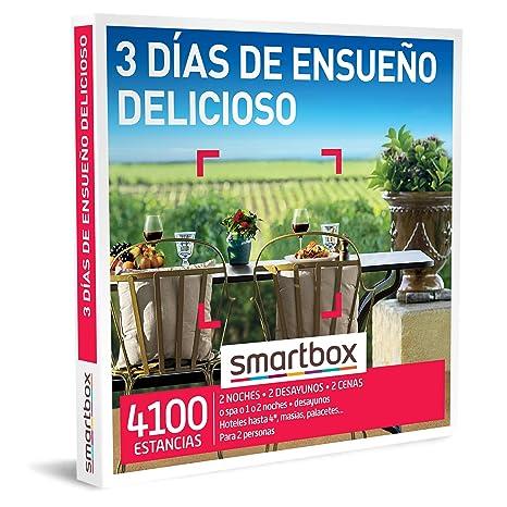 SMARTBOX - Caja Regalo hombre mujer pareja idea de regalo - 3 días de ensueño delicioso - 4100 estancias en románticos hoteles de hasta 4*, mágicos palacetes, masías y mucho más: Amazon.es: Deportes y aire libre