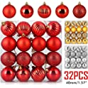 32-Piece Zogin Christmas Ball Ornaments