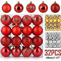 32-Piece Zogin Christmas Ball Ornaments