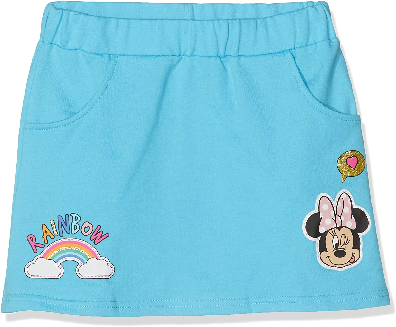 Disney Minnie 5715 Falda, Azul Bleu Clair, 3 años para Niñas ...