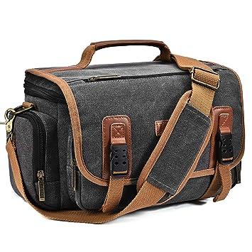 Coolbell 22401 - Bolsa para cámara réflex Digital: Amazon.es ...