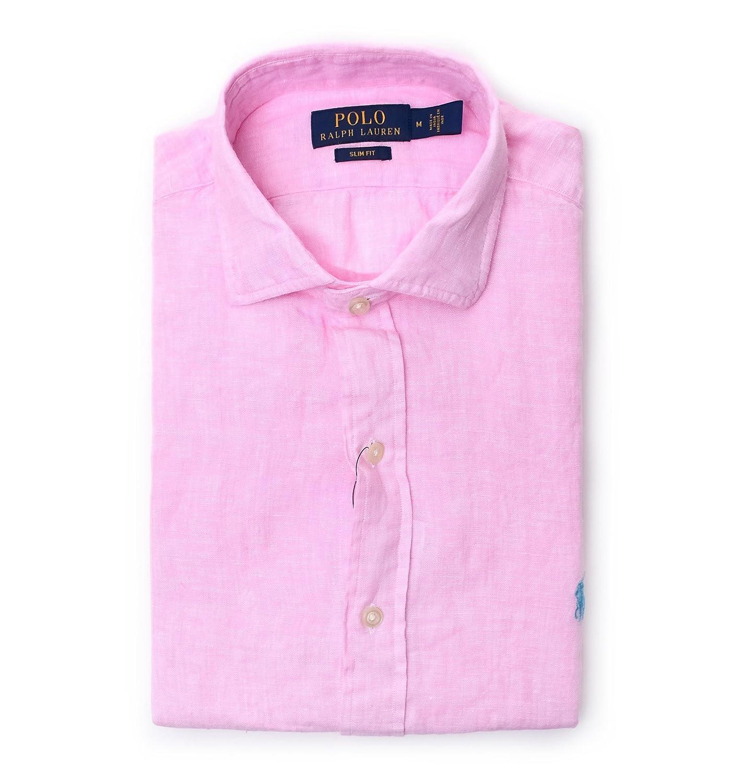 Ralph Lauren Camisa Casual - Para Hombre Rosa Marke Talla L ...