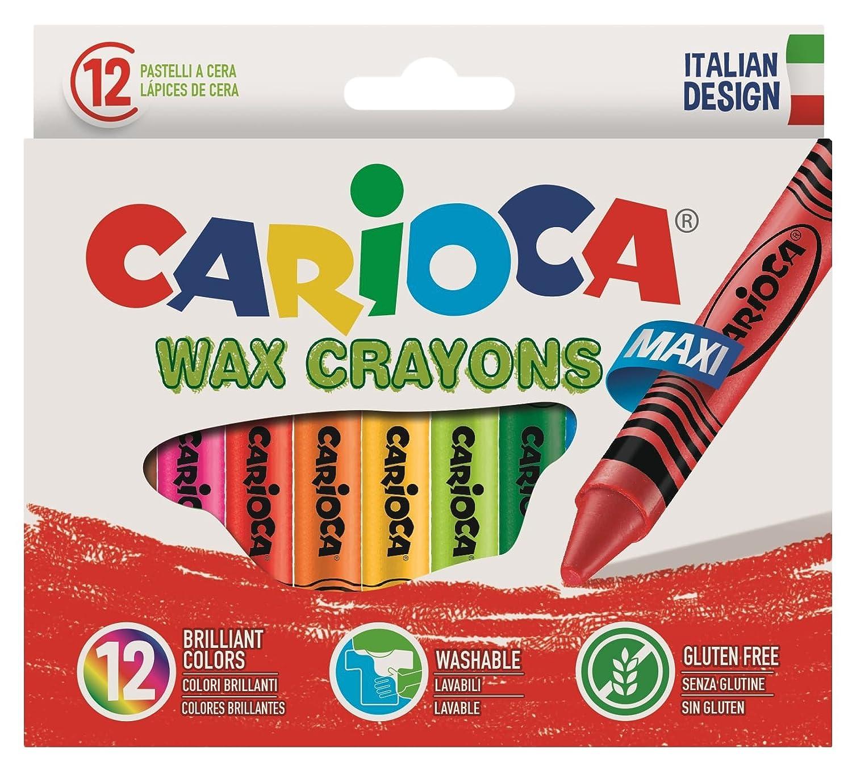 Carioca - Caja con 24 ceras pastel (A36150024) C4742390