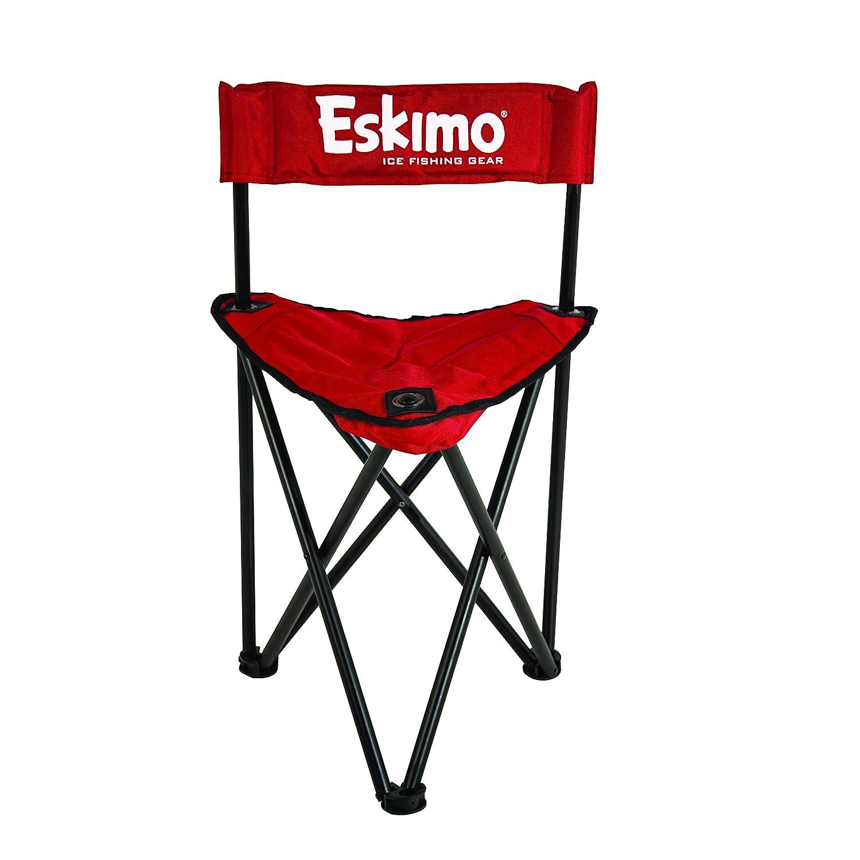 Amazon Eskimo Folding Ice Chair Fishing Equipment Sports