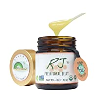 GREENBOW Organic Fresh Royal Jelly - 100% USDA Certified Organic, Pure, Gluten Free...