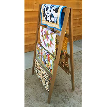 Amazon The Ladderrack 2 In 1 Quilt Display Rack 5 Rung24