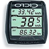 Ciclosport Drahtloser Fahrradcomputer ohne Tasten CM 4.11, schwarz, 10104300